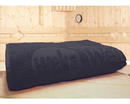 Sauna Spezialhandtuch Weka 70x180 cm anthrazit