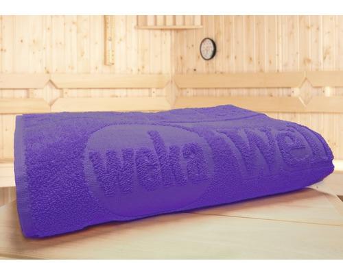 Serviette spéciale pour sauna Weka 70x180cm violette