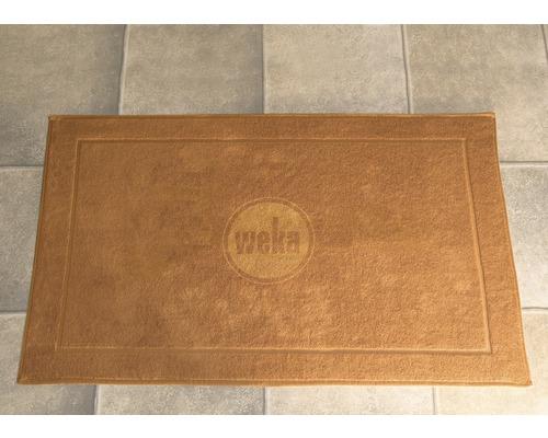 Tapis de sol pour sauna Weka 90x60cm beige