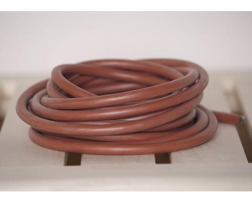 Câble en silicone pour sauna Weka tripolaire 2,5mm² 3 m poêle de sauna compact 3,6kW