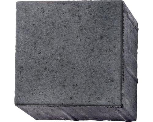 Pflasterstein Quadratpflaster Crescendo anthrazit 20 x 20 x 8 cm mit Mini-Fase