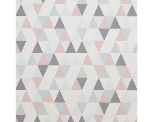 Papier Peint Intisse 218183 Hej Geometrique Gris Rose Hornbach