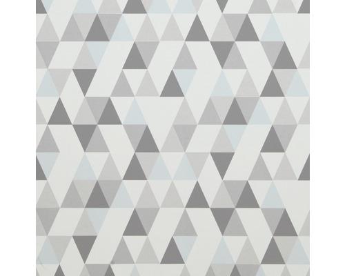 Papier Peint Intisse 218182 Hej Geometrique Gris Bleu
