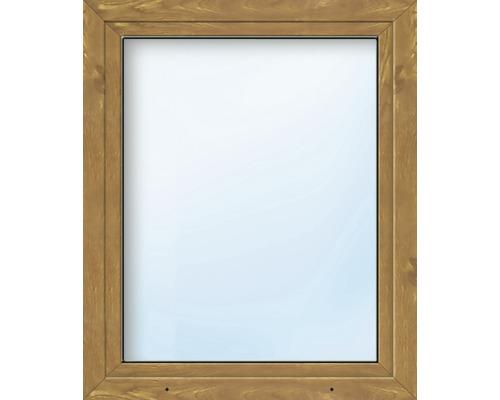 Fenêtre en PVC ARON Basic blanc/golden oak 900x1300 mm tirant gauche