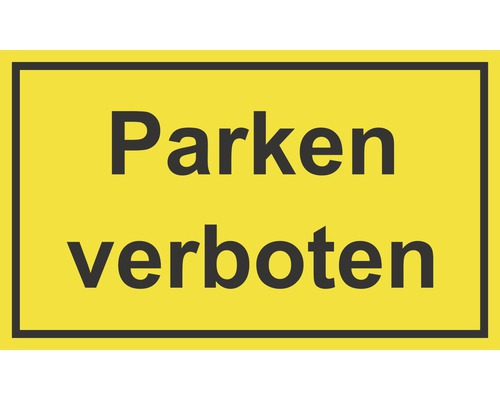 Panneau «Stationnement interdit» 250x150 mm