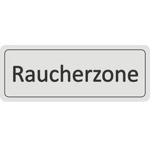 Panneau de porte «Zone fumeurs» autocollant 45x120 mm-thumb-0