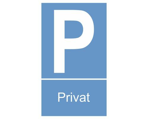 Panneau «Parking privé» 150x250 mm