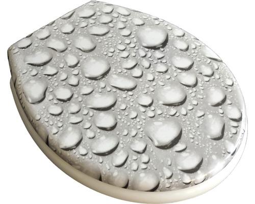 WC-Sitz ADOB Cortina Drops leicht abnehmbar mit Absenkautomatik