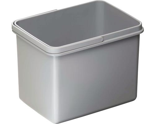 Poubelle CENTA Cursa en plastique 12 litres grise