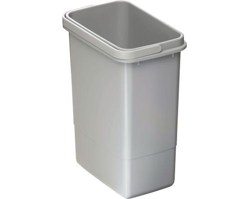Poubelle CENTA Cursa en plastique 7 litres grise