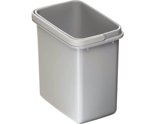 Poubelle CENTA Cursa en plastique 5 litres grise