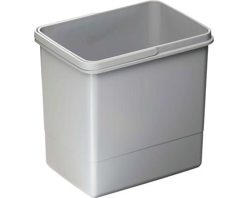 Poubelle CENTA Cursa en plastique 15 litres grise