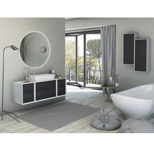 LED Badspiegel Tessin mit Kosmetikspiegel 100 cm 45011 IP 44 (fremdkörper- und spritzwassergeschützt)-thumb-2
