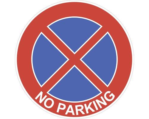 Autocollant «Stationnement interdit» Ø200mm