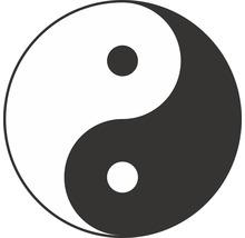 Autocollant «Yin et Yang» Ø60mm-thumb-0