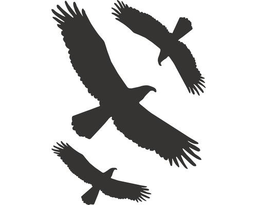 Autocollant «Oiseaux» 200x300 mm, 3 pièces