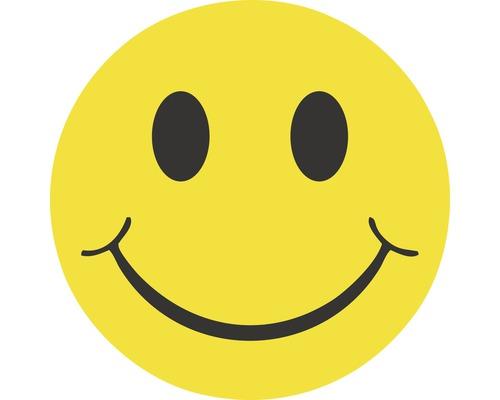 Autocollant «Smiley» Ø80mm