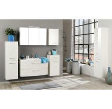 Armoire de toilette à trois portes 100x66 cm blanc-thumb-2