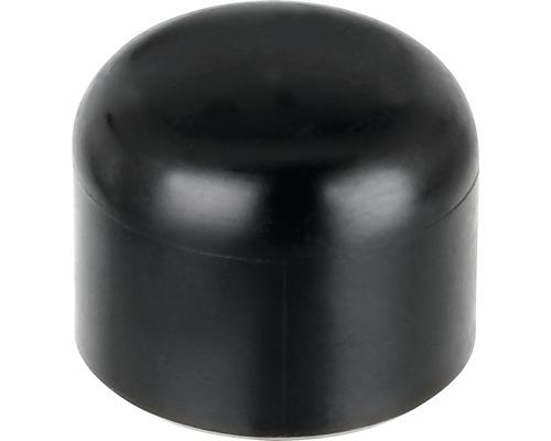 Couvre poteau GAH Alberts pour poteau métallique ⌀ 38mm noir