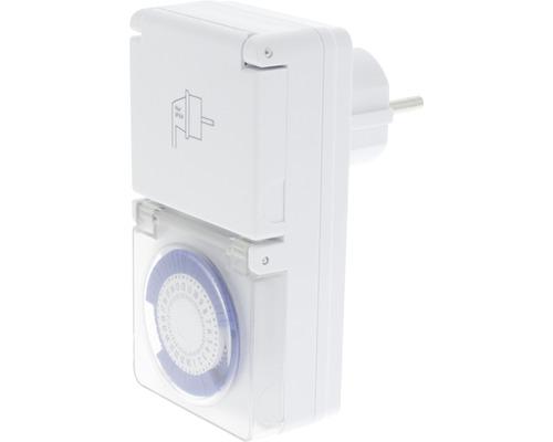 Programmateur automatique blanc IP44