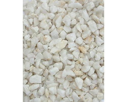 Gravier pour aquarium 2-5mm 25 kg blanc/clair