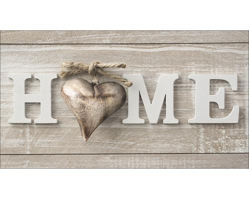 Panneau décoratif Home With Heart 15x30 cm