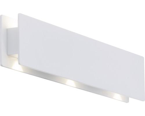 Applique murale à LED Court blanc 1 ampoule avec ampoule 680/136lm 3000K blanc chaud l 430mm
