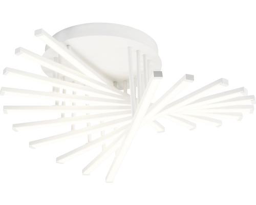 Plafonnier LED Cyrus blanc à intensité lumineuse variable 1 ampoule avec ampoule 6000lm 3000K blanc chaud Ø 610mm