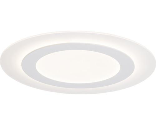 Plafonnier LED Karia blanc à intensité lumineuse variable 1 ampoule avec ampoule 3800lm 3000K blanc chaud Ø 480mm