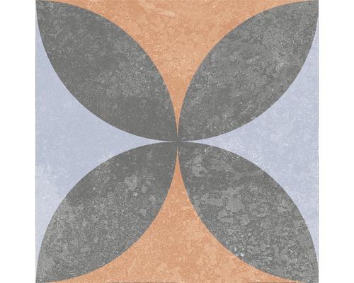 Carrelage décoratif en grès cérame fin Heidelberg Décor 10 18,6x18,6 cm
