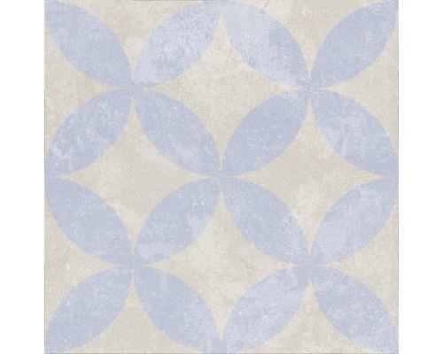 Carrelage décoratif en grès cérame fin Heidelberg Décor 3 18,6x18,6 cm