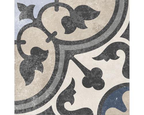 Carrelage décoratif en grès cérame fin Heidelberg Décor 13 18,6x18,6cm