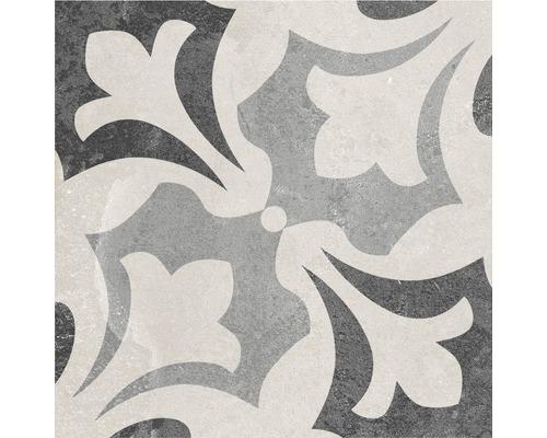 Carrelage décoratif en grès cérame fin Heidelberg Décor 15 18,6x18,6cm
