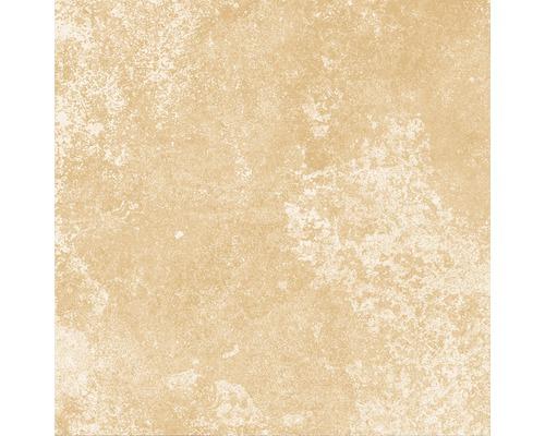 Carrelage décoratif en grès cérame fin Heidelberg ocre 18,6x18,6cm