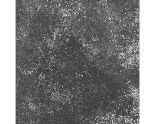 Carrelage décoratif en grès cérame fin Heidelberg noir 18,6x18,6cm