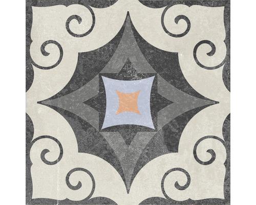 Carrelage décoratif en grès cérame fin Heidelberg Décor 14 18,6x18,6cm