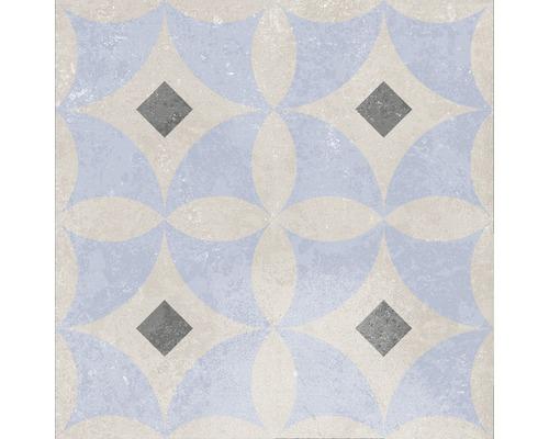 Carrelage décoratif en grès cérame fin Heidelberg Décor 1 18,6x18,6cm