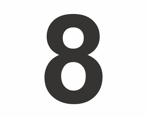 Die Zahl 8