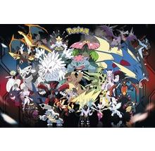 Poster Pokemon Mega 61x91,5 cm-thumb-0