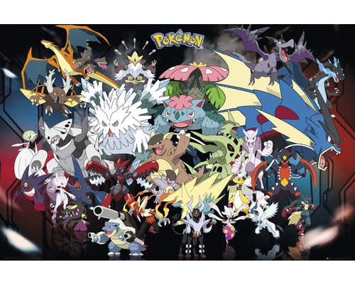 Poster Pokemon Mega 61x91,5 cm-0