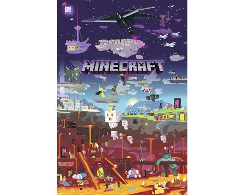 Poster Minecraft 61x91,5 cm-0