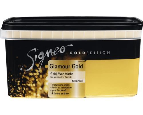 Peinture murale SIGNEO Goldedition Glamour Gold 1l