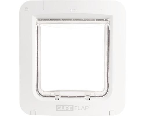 Trappe pour animaux domestiques SureFlap Connect à micropuce 262x281mm blanc