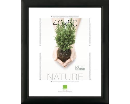 Cadre en bois NATURE noir 30x40 cm