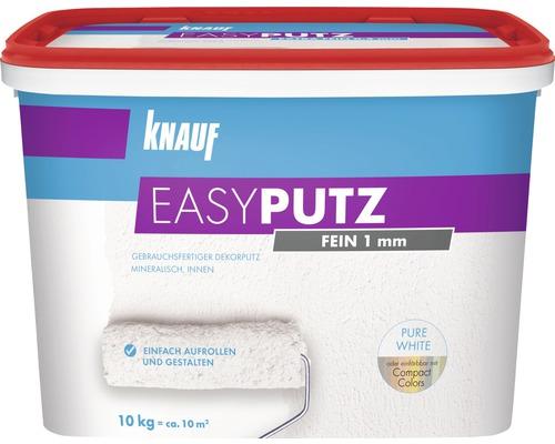 Enduit de décoration Knauf EASYPUTZ 1 mm fin blanc 10 kg