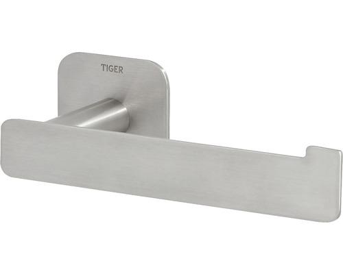 Porte-papier toilette Colar en L, en acier inoxydable brossé