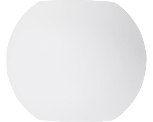 Applique murale à LED Gus blanc à intensité lumineuse variable 2 ampoules avec ampoules 2x144lm 3000K blanc chaud Ø 100mm