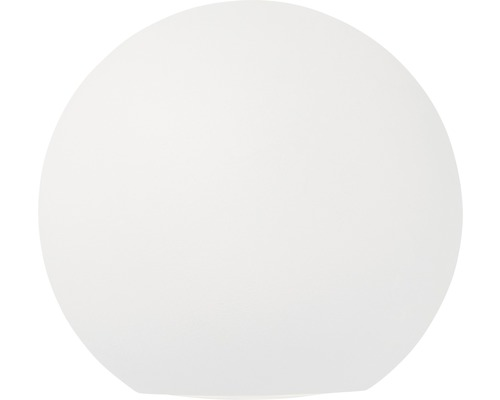 Applique murale à LED Gus blanc 1 ampoule avec ampoule 144lm 3000K blanc chaud Ø 100mm