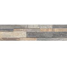 Pierre de parement en grès cérame fin Canyon Multic 15x61cm-thumb-0