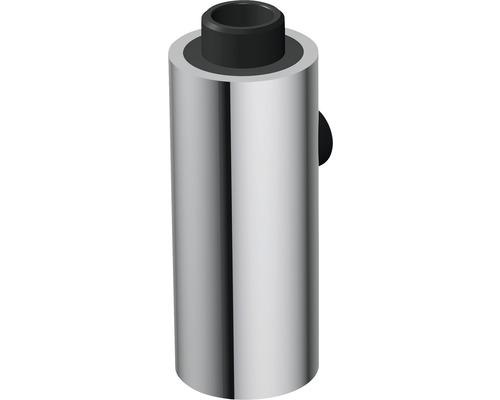 Douchette de vaisselle cylindrique chromée
